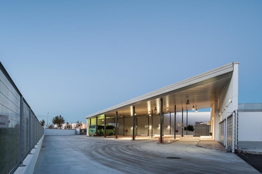 Estación de autobuses de Conil (Cádiz)