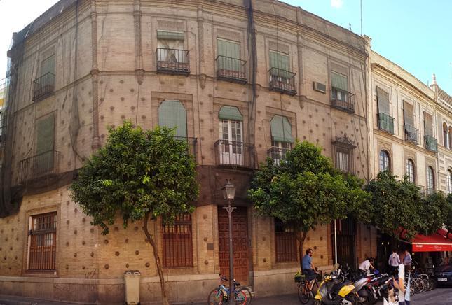 Consolidación estructural edifico en Sevilla